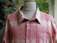 chemise garance shibori det