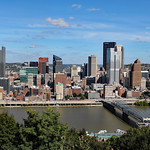 View of Pittsburgh from Mt. Washington lookout thumbnail