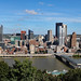 View of Pittsburgh from Mt. Washington lookout