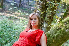 IMG_9319 (fab spotter) Tags: younggirl portrait forest levitation brenizer extérieur lumièrenaturelle