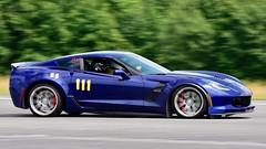 Sleek GS (R.A. Killmer) Tags: cone killer classic 13 2018 race racing driver autocross fast horsepower quick midstate airport nikon d750 scca grandsport chevy stingray corvette
