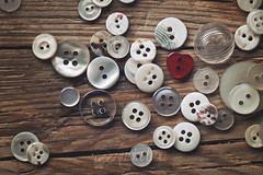 Buttons (Ali Llop) Tags: button plastic clothing round sewing sew collection group textile design circle many texture color macro detail tailor stitch closeup buttons accessory dress dressmaking clothes craft shape