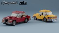 Lampadati Zeta '79 (initial_dvache) Tags: ldd lego car 5wide blender mecabricks