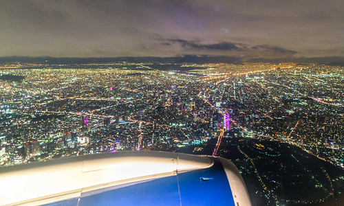 Landing in Mexico City IV