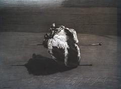 Coeur transpercé de Youssef Abdelké (Institut du monde arabe, Paris) (dalbera) Tags: dalbera institutdumondearabe paris france youssefabdelké donationcflemand ima