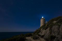 _DSC2687 (fjsmalaga) Tags: faro calaminar mar agua ngc tarifa cadiz nocturna noche estrellas rocas