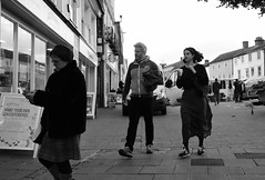 Ready to Make their Own Gin Experience (Bury Gardener) Tags: bw blackandwhite monochrome mono burystedmunds britain suffolk streetphotography street streetcandids snaps strangers candid candids people peoplewatching folks england eastanglia cornhill