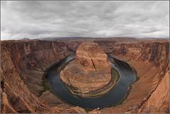Horseshoe Bend (Nufus) Tags: olympus omdem1 zd8mm naturaleza agua cañon meandro profundidad vertigo roca formacion geologica