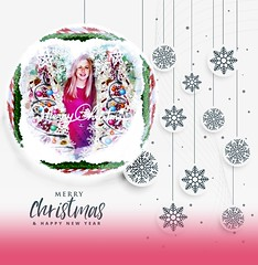 Hope - minimal white christmas background with snowflakes decoration (sing-smile-sing) Tags: christmas merry happy xmas holiday vector background winter december season card greeting celebration new year festive festival poster design event invitation graphic snow flake snowflake snowfall frost