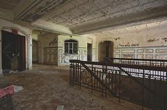 Inverted Exclaimation (jgurbisz) Tags: jgurbisz vacantnewjerseycom abandoned nj newjersey marlboropsychiatriccenter asylum statehospital decay marlboro lobby