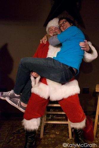 mike and santa